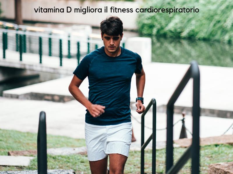 vitamina D fa bene al cuore e migliora il fitness cardiorespiratorio